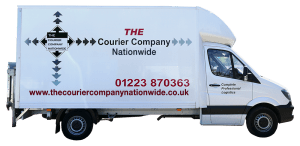 The Courier Company Nationwide Luton Courier Van