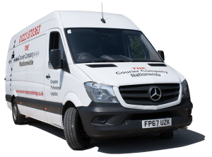 The Courier Company Nationwide formerly Cambridge Delivery van
