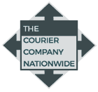 The Courier Company Cambridge Nationwide logo